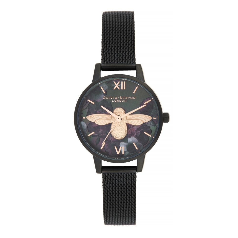 Olivia Burton After Dark 3D Bee Midi Dial Watch - Watches from ... 8be63ad1bf