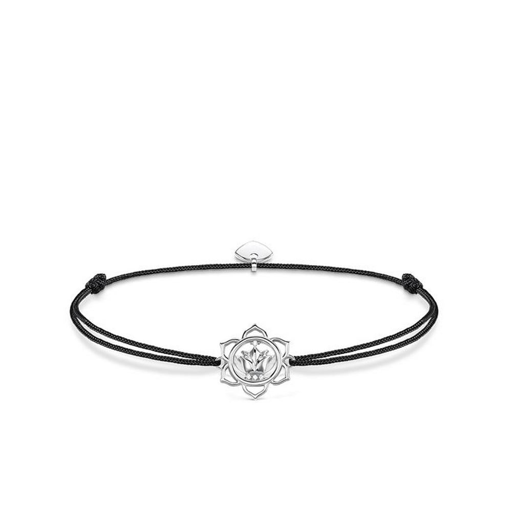 Thomas sabo black lotus flower little secrets bracelet bracelets black lotus flower little secrets bracelet izmirmasajfo