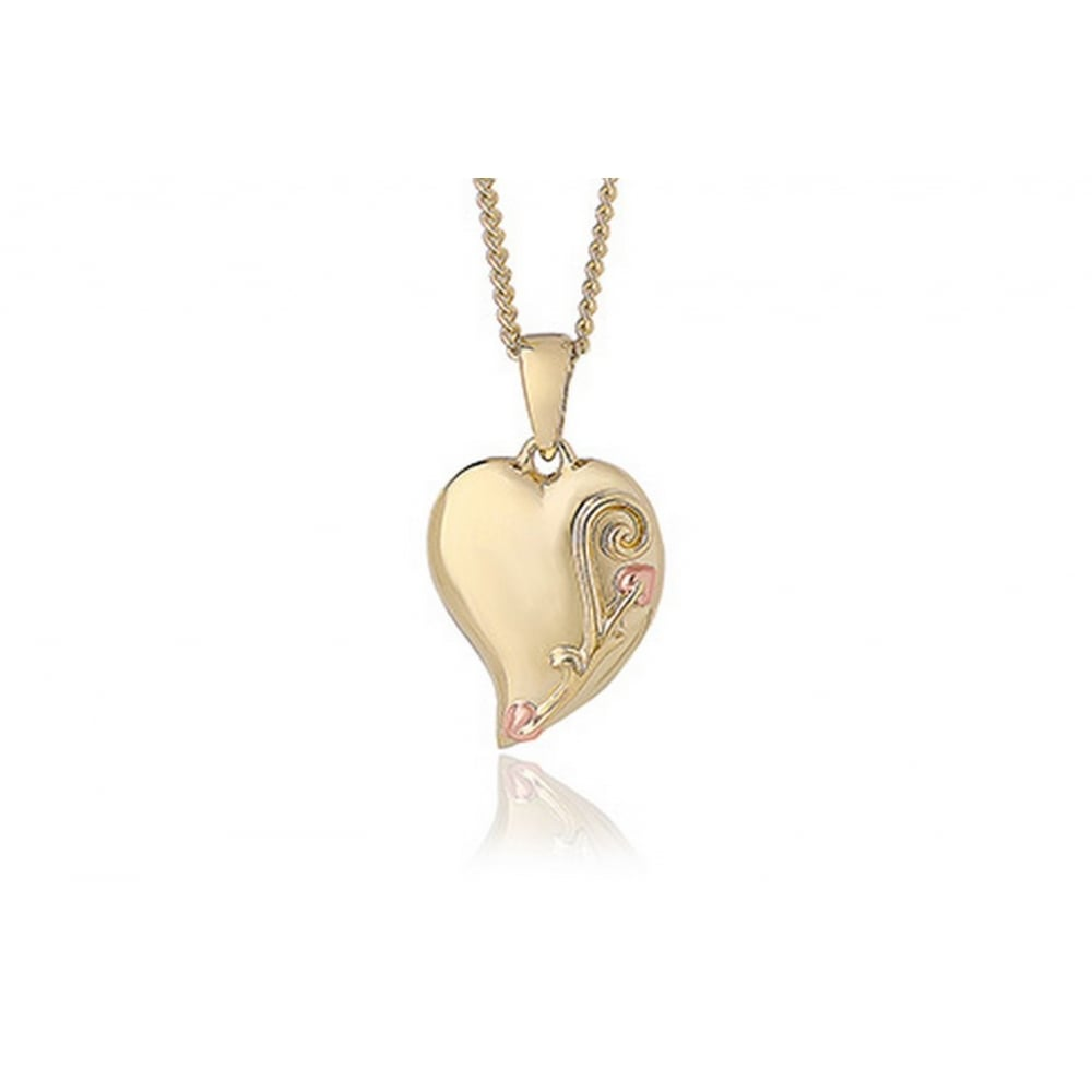 b820af78aa Clogau Tree of Life Heart Pendant - Necklaces from Bradbury's The ...