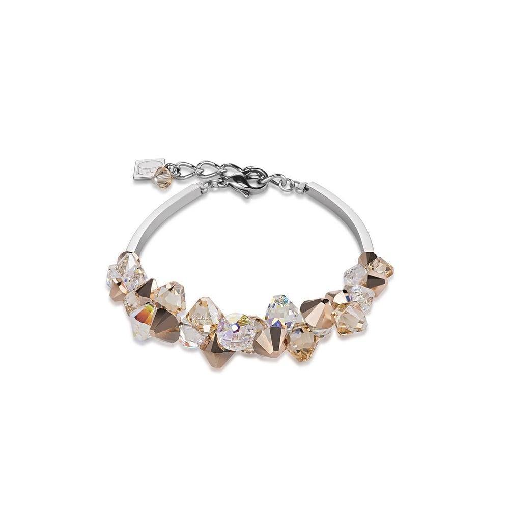 Coeur De Lion Rose Gold Swarovski Crystal Bracelet - Bracelets from ... 3970f9fa1983