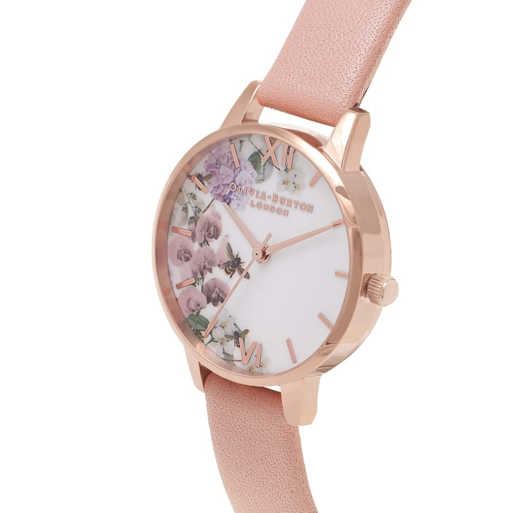 watch gold grey tan products thehorse sportique the horse heritage rose watches polished