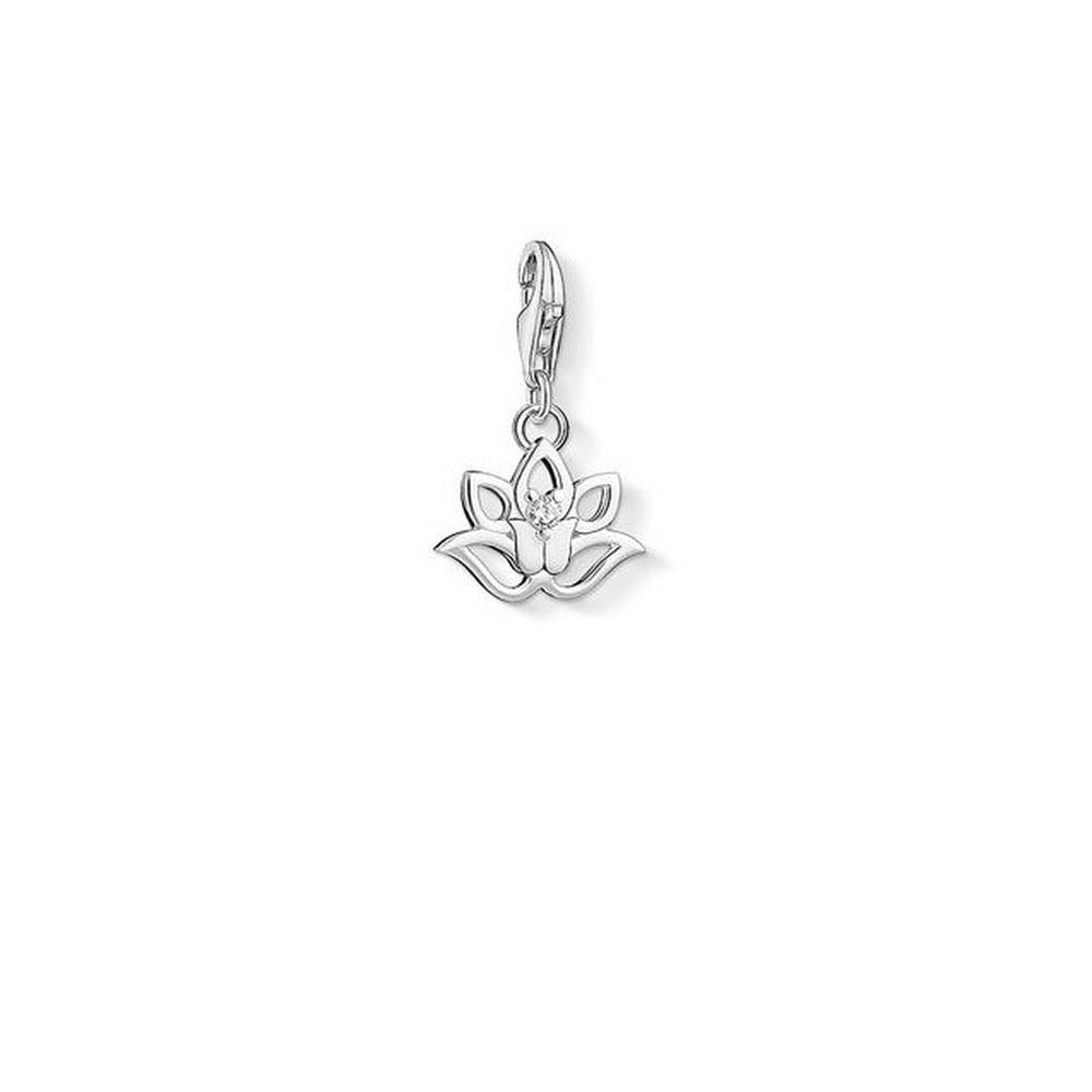 Thomas Sabo Lotus Flower Charm Pendant Charms From Bradburys The