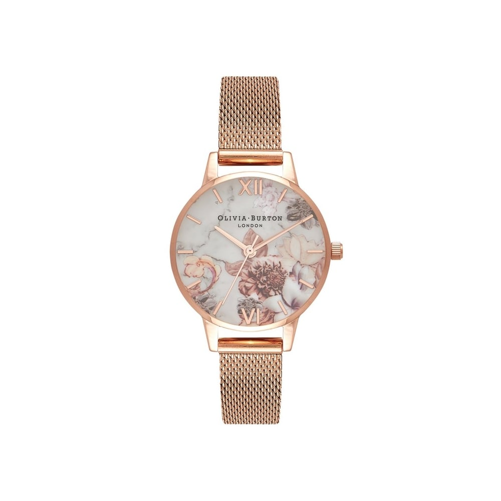 gold slim women main mesh p watches rose lyon abbott wid plated watch