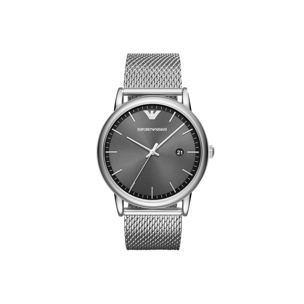 strap curren simple for design women silver analog watch classy numberless product watches mesh com
