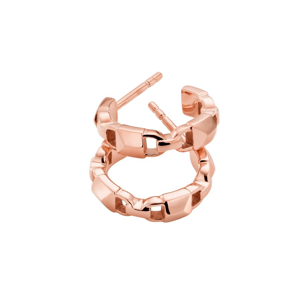 8ecc959e004897 Michael Kors 14K Rose Gold-Plated Hoop Earrings - Jewellery from ...