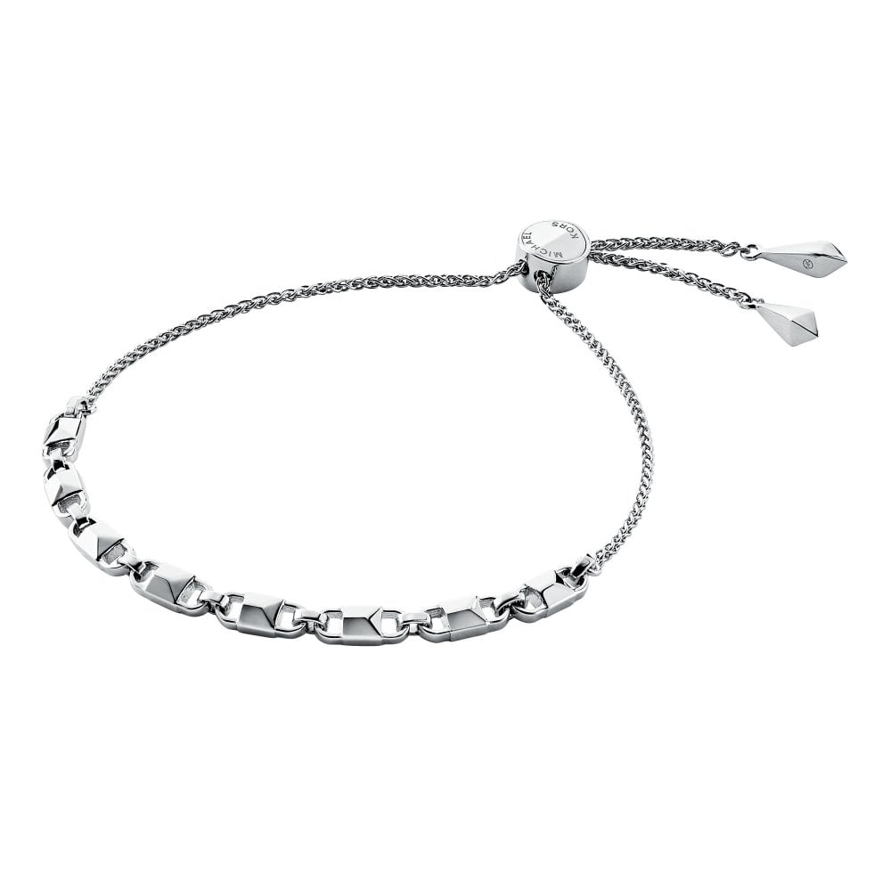 michael kors women s sterling silver slider bracelet jewellery rh bradburysonline com michael kors rings sale uk