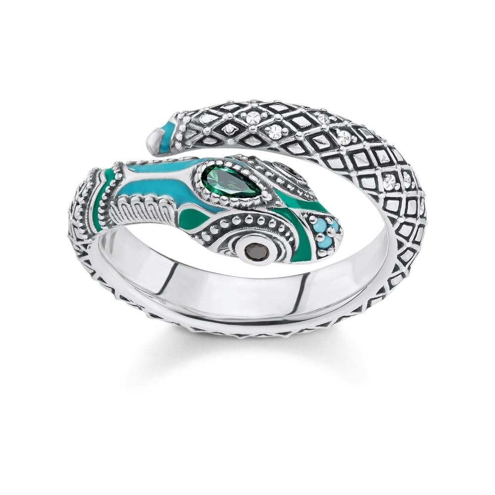 thomas sabo snake ring rings from bradbury 39 s the. Black Bedroom Furniture Sets. Home Design Ideas