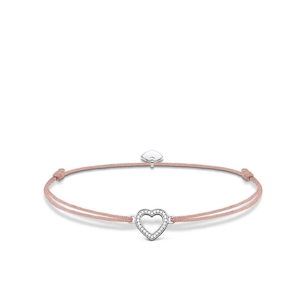 Stone Set Heart Wish Bracelet