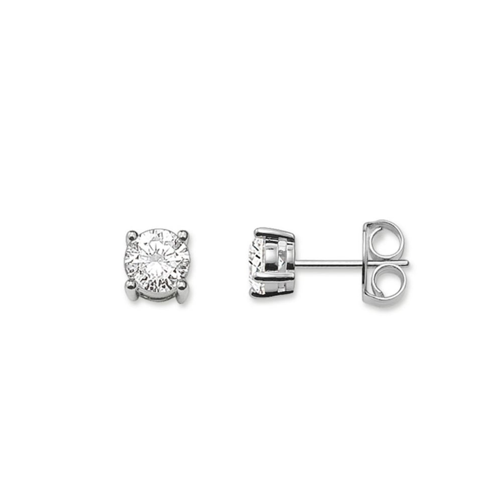 gold solitaire original earrings diamond white so cherished stud oh by product ohsocherished